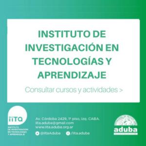 Instituto de Investigación en Tecnologías y Aprendizaje