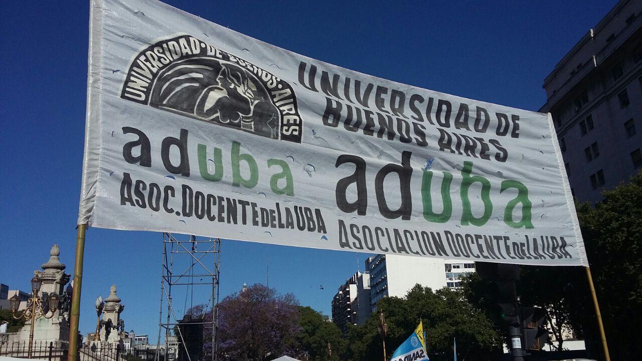 Movilización al Ministerio de Producción (7 de Marzo)
