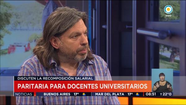 Entrevista a Daniel Ricci, Secretario General de ADUBA