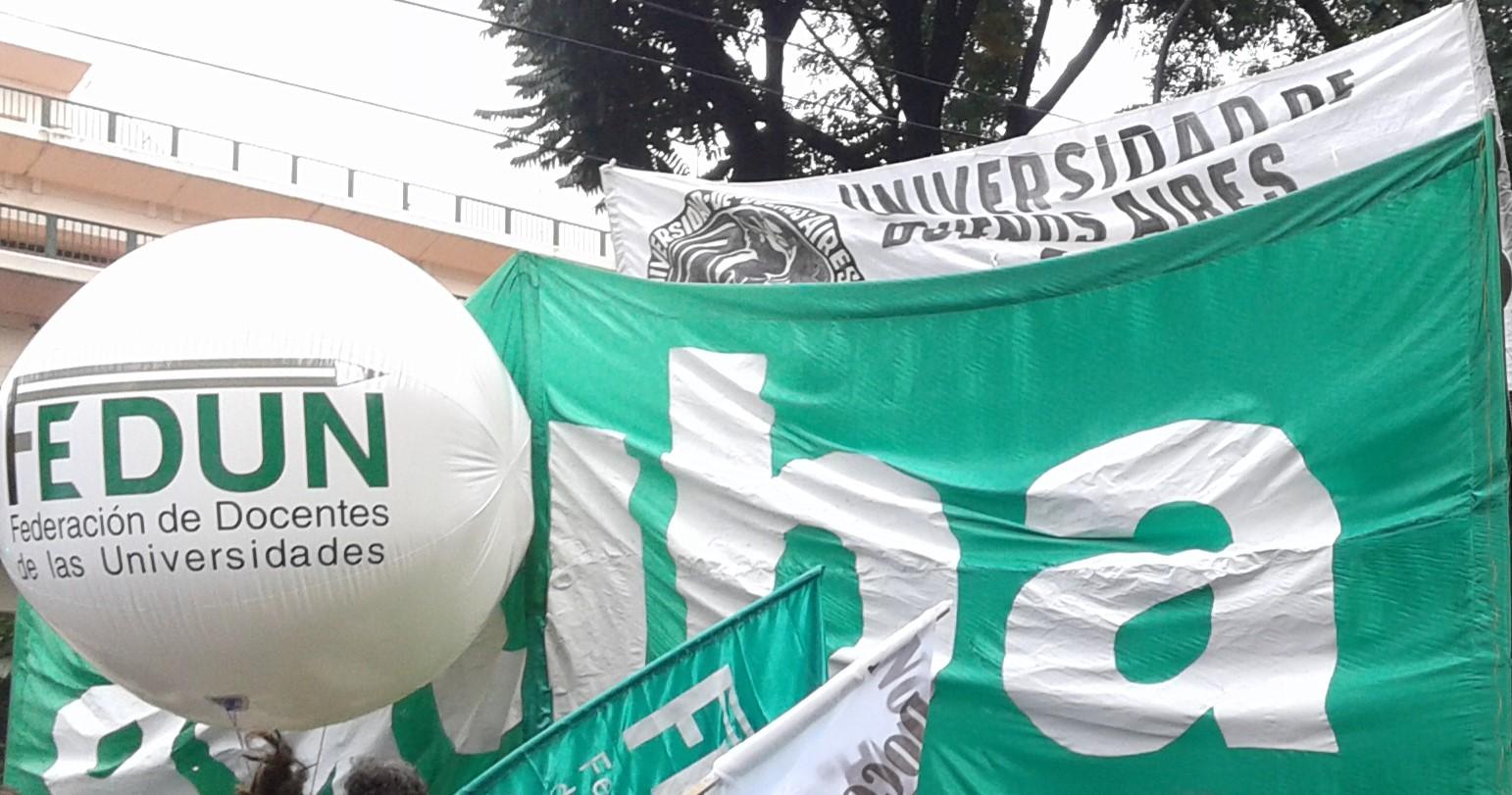 Ante la falta de respuestas a nuestras demandas ratificamos el plan de lucha con asambleas, clases públicas, movilizaciones, y Paro Nacional el  6 de Abril