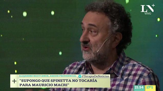 Repudiamos innecesario ataque verbal oficialista al flaco Spinetta