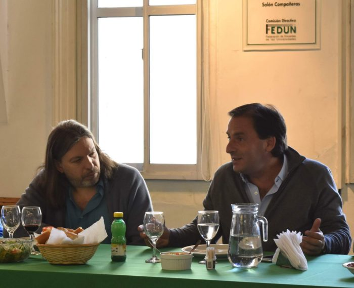 Ariel Sujarchuk visitó la sede de ADUBA – FEDUN