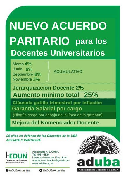 MEJORAS EN LA NEGOCIACIÓN PARITARIA