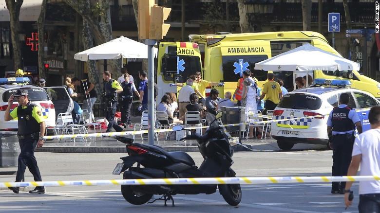 Comunicado en repudio al violento atentado en Barcelona