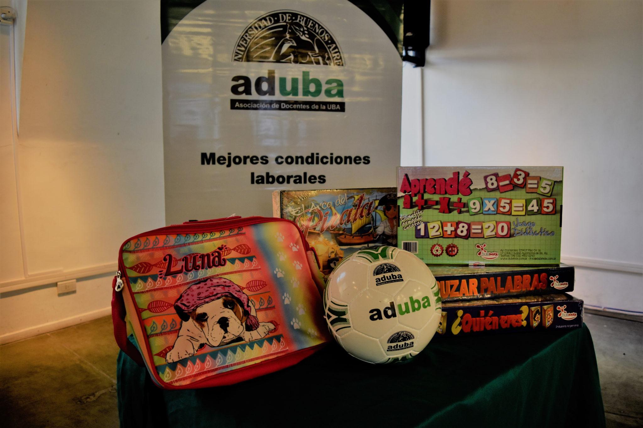 ADUBA entregará juguetes por el Día del Niño