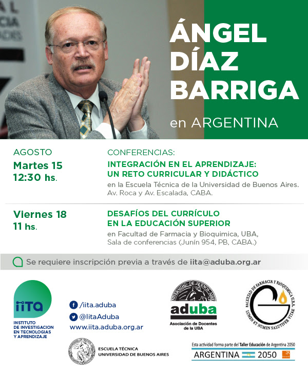 Ángel Díaz Barriga en Argentina