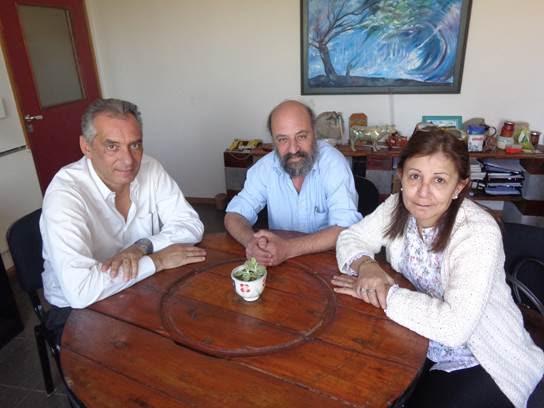 ADUBA VISITÓ LA ESCUELA DE EDUCACIÓN TÉCNICO PROFESIONAL DE NIVEL MEDIO EN PRODUCCIÓN AGROPECUARIA Y AGROALIMENTARIA