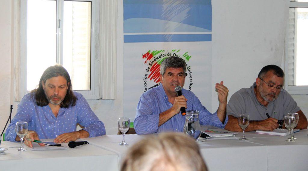 LA FESIDUAS Y LA CEA ESTABLECIERON LOS PUNTOS DE UNA AGENDA COMÚN DE CARA A LA CRES-2018