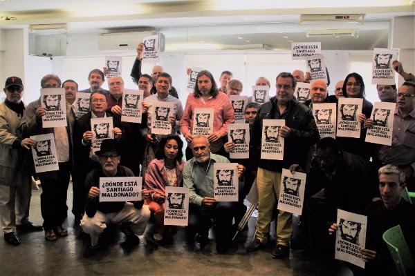 CON PRESOS POLÍTICOS Y DESAPARICIONES FORZADAS NO ESTAMOS VIVIENDO EN UNA VERDADERA DEMOCRACIA