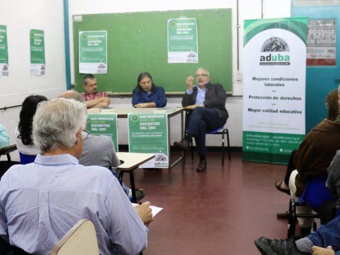 CONCURSOS ESPECIALES PARA DOCENTES DEL CBC: REGULARIZAR LOS CARGOS ES OBTENER MÁS DERECHOS
