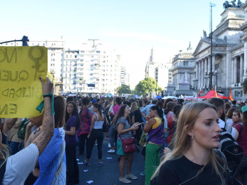 EN LA MULTITUDINARIA MARCHA POR EL #8M