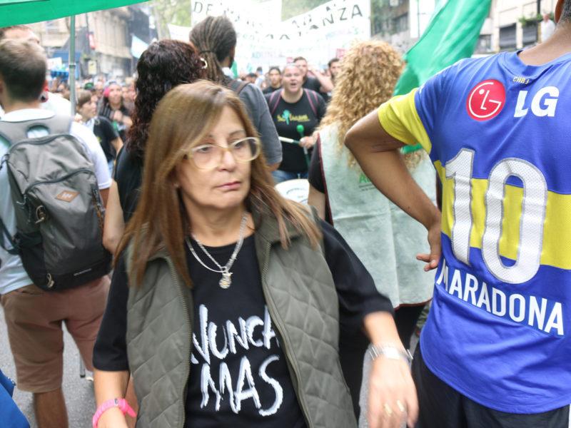 MULTITUDINARIO ACTO POR EL 24 DE MARZO