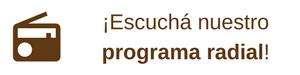 El programa radial de ADUBA