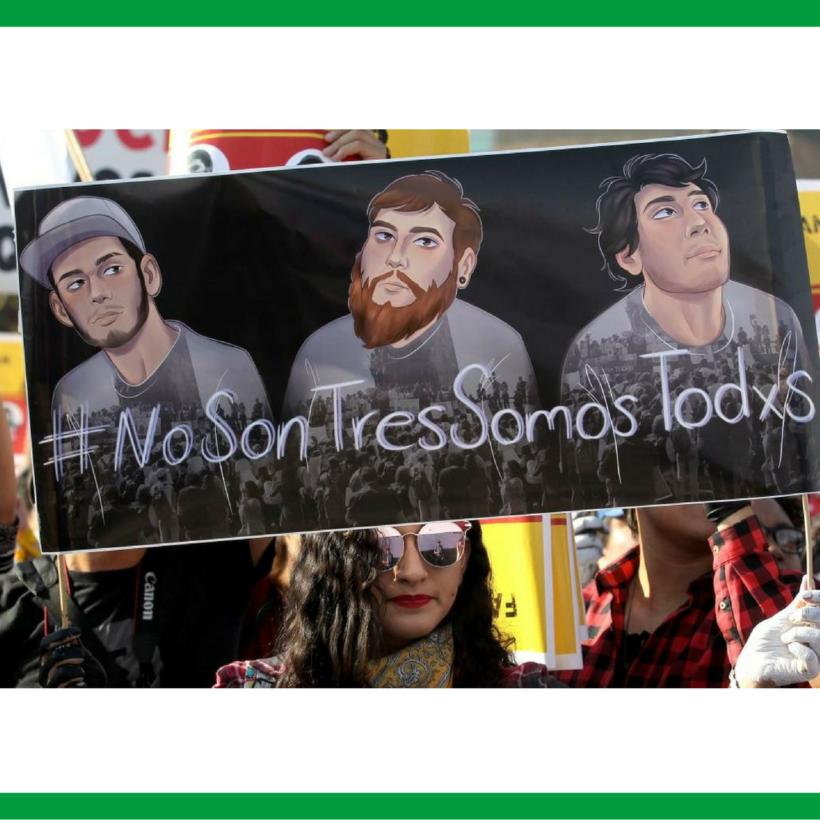 SOLIDARIDAD CON NUESTROS HERMANOS MEXICANOS