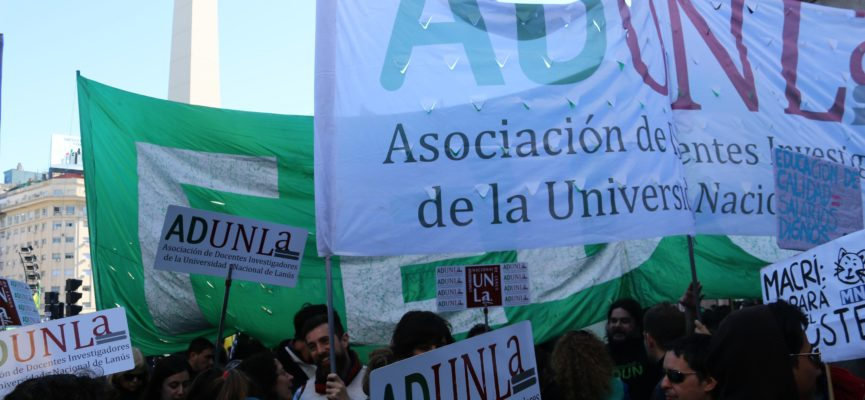 SEGUNDA MARCHA FEDERAL EDUCATIVA: EN DEFENSA DE LA EDUCACIÓN PÚBLICA, GRATUITA, INCLUSIVA Y DE CALIDAD