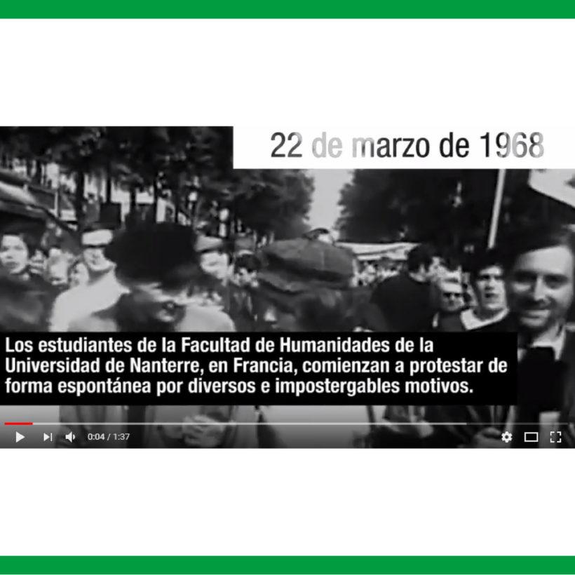 A 50 AÑOS DEL MAYO FRANCÉS