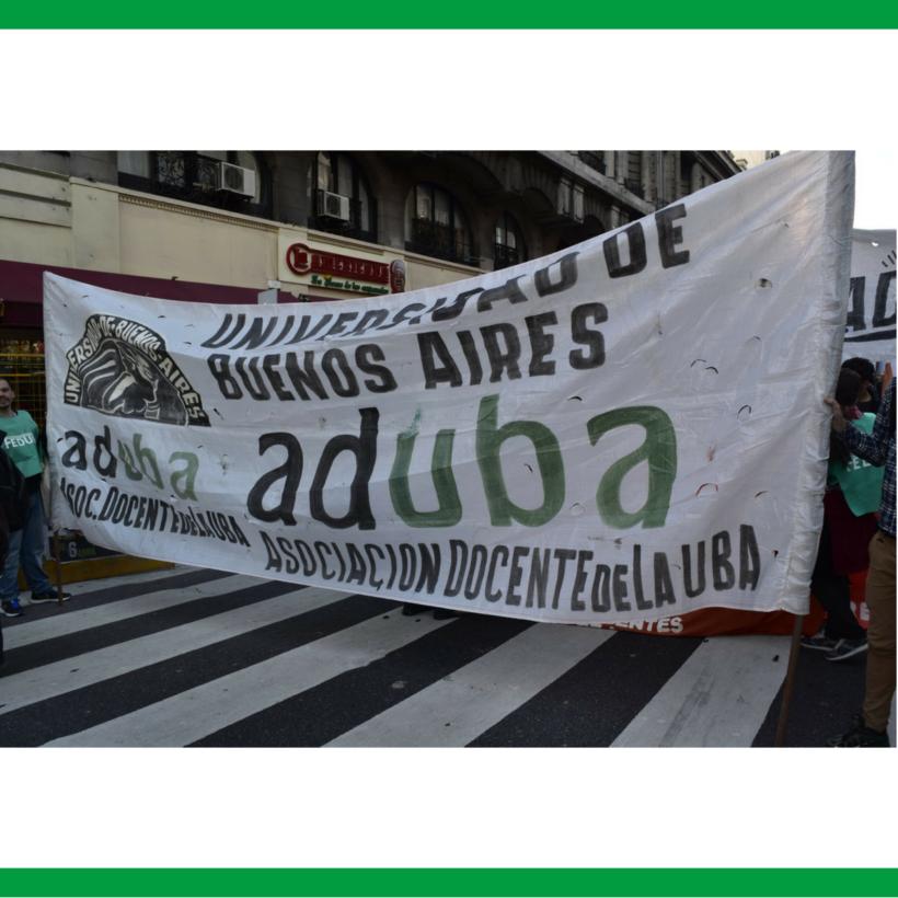 ADUBA ADHIERE AL PARO NACIONAL DE LA CGT EL 25 DE JUNIO