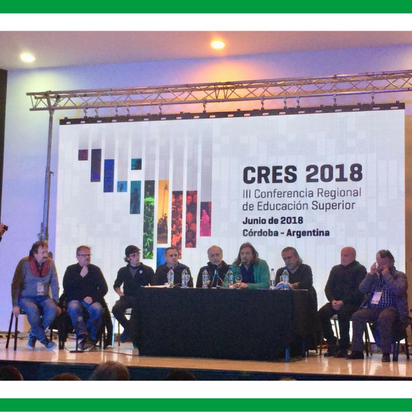 IMPORTANTE PARTICIPACIÓN DE ADUBA EN LA CRES 2018