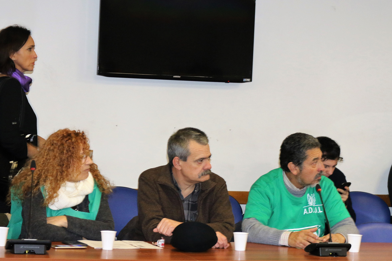 CONFLICTO DOCENTE EN CHUBUT: ADUBA PARTICIPÓ DE LA CONFERENCIA DE PRENSA EN DIPUTADOS
