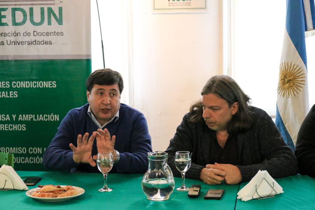 """DANIEL ARROYO: """"EL DESAFÍO ES CONSTRUIR UNA ALTERNATIVA POLÍTICA"""""""