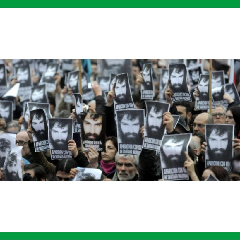 DESDE ADUBA EXIGIMOS JUSTICIA POR SANTIAGO MALDONADO ¡EL ESTADO ES RESPONSABLE!