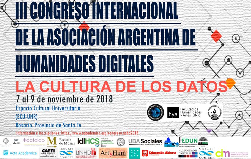 INVITACIÓN: Congreso Internacional: Humanidades Digitales