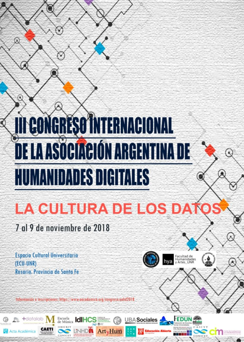 INVITACIÓN: Congreso Internacional: Humanidades Digitales