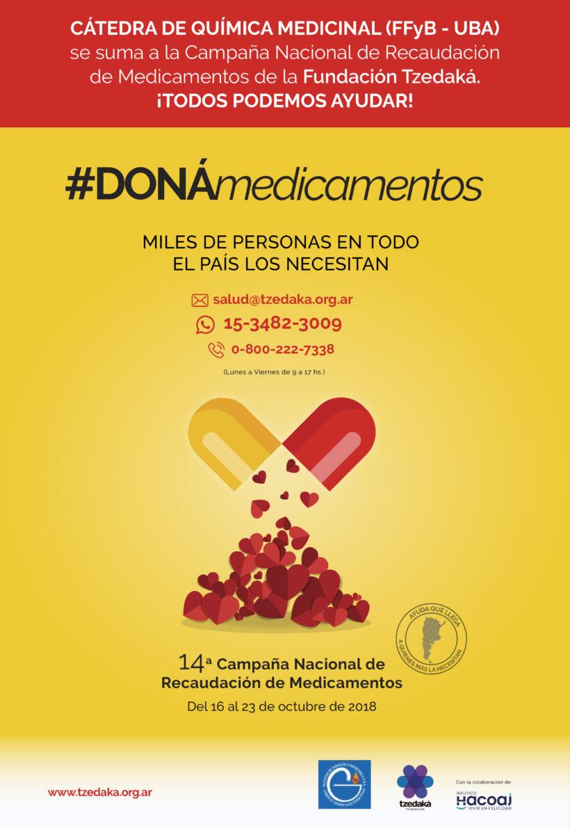PARTICIPAMOS DE LA CAMPAÑA #DONAMEDICAMENTOS