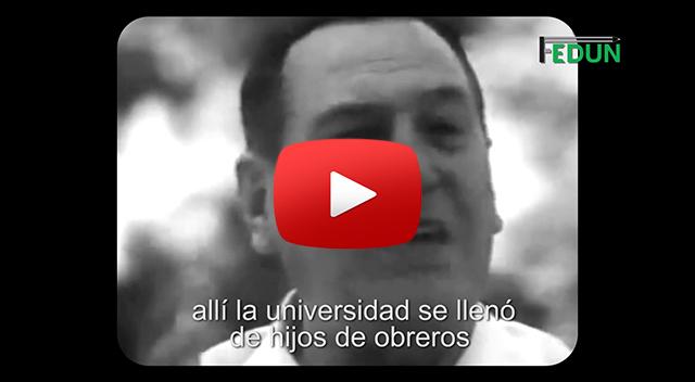 A 69 AÑOS DE LA GRATUIDAD UNIVERSITARIA