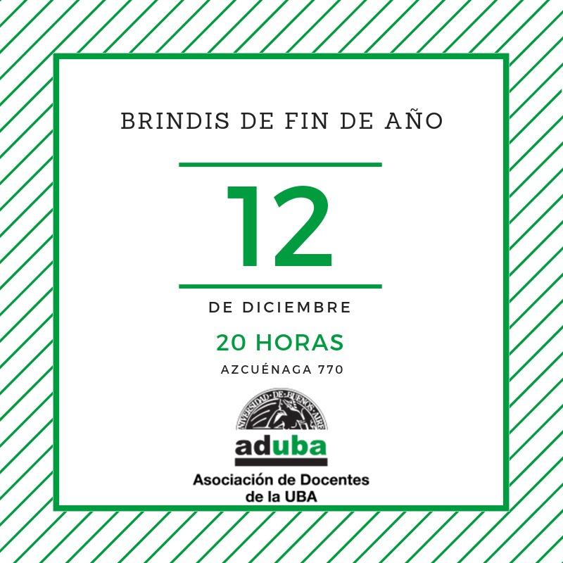 BRINDIS FIN DE AÑO