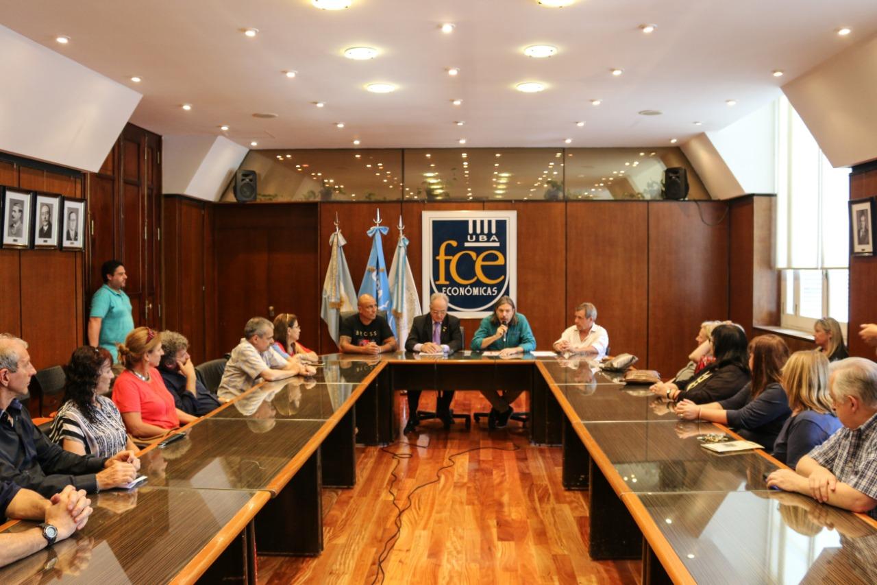 ADUBA y la Facultad de Ciencias Económicas firmaron un convenio de cooperación