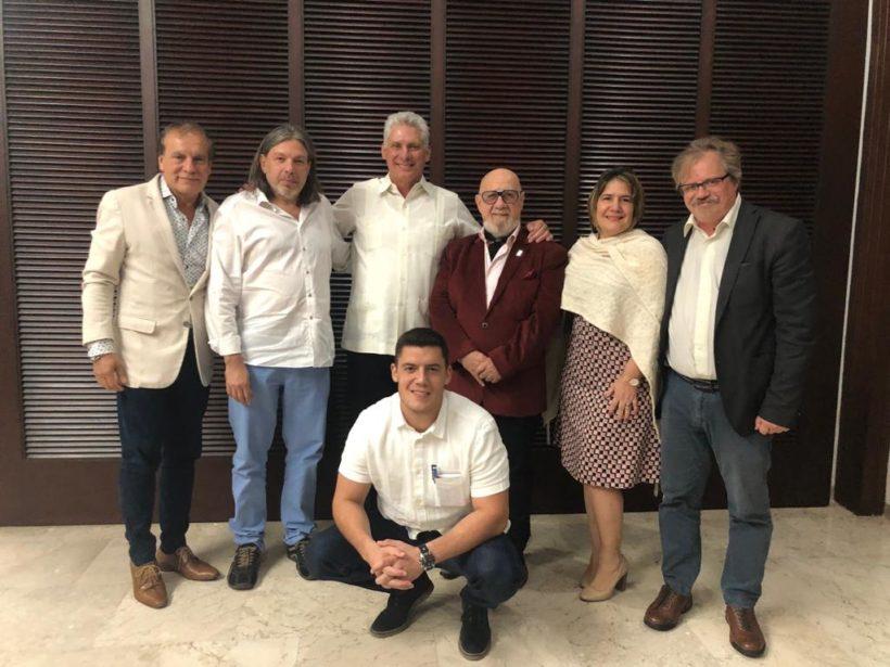 Congreso pedagógico: reunión de la FEDUN con el presidente de Cuba