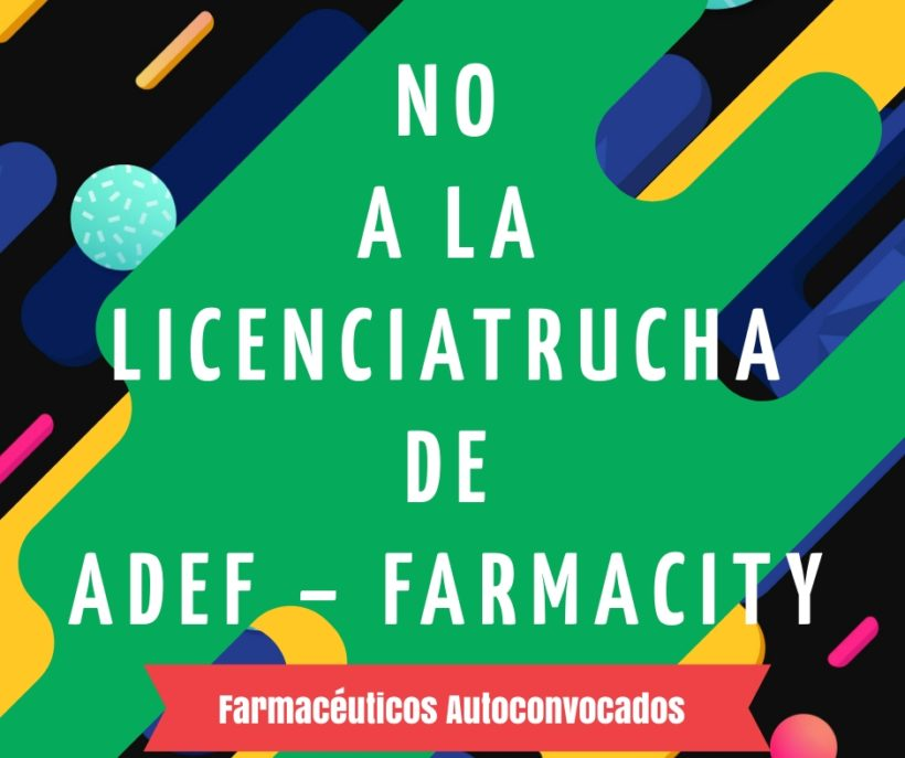 FARMASHOPPING CONTRA LA CALIDAD EDUCATIVA
