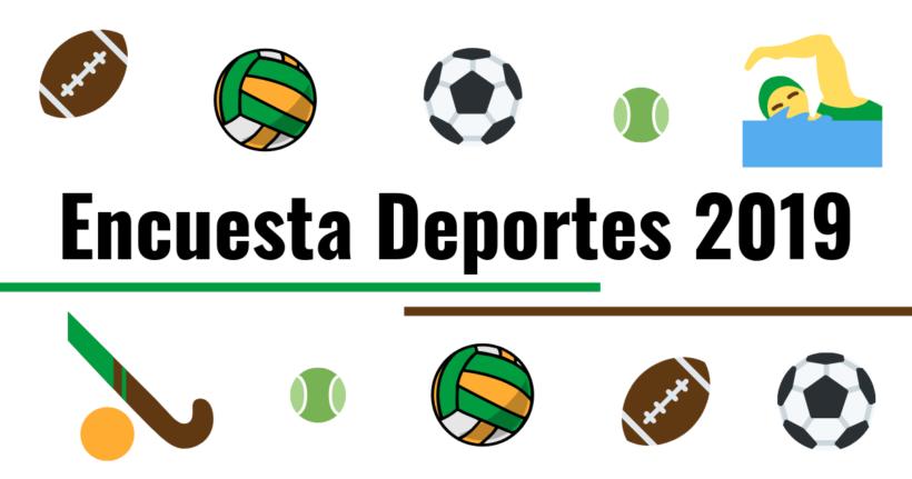 Encuesta Deportes 2019