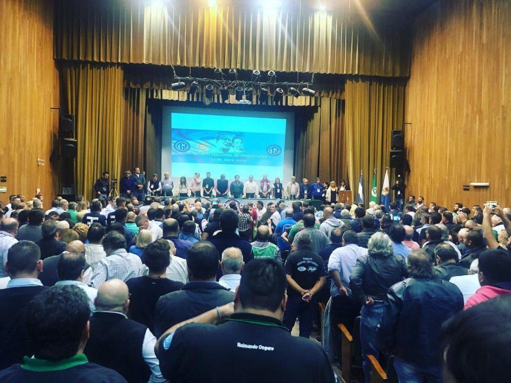 El sindicalismo opositor llamó a un Paro Nacional el 30 de abril