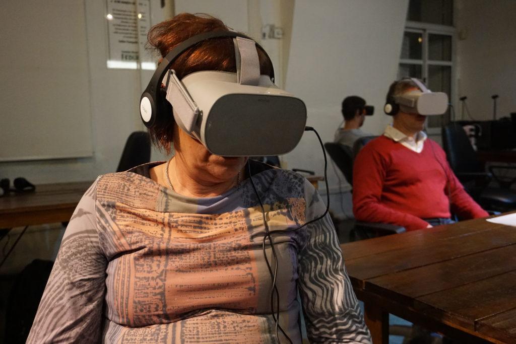Comenzó el ciclo de cine en formato VR