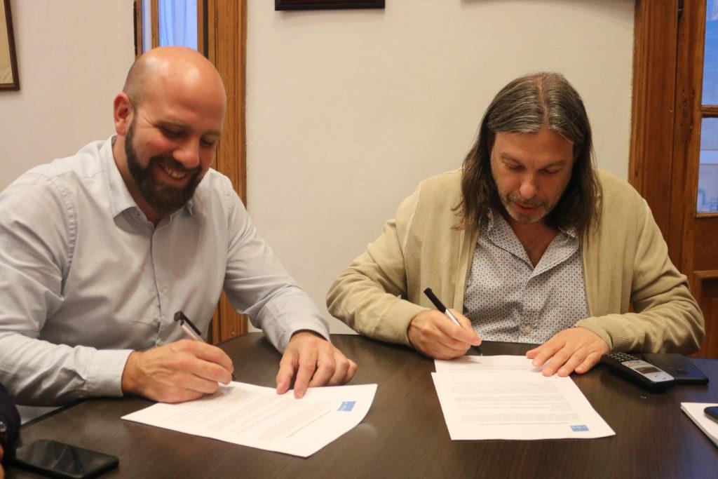 FEDUN firmó un convenio marco con la Federación del Deporte Universitario