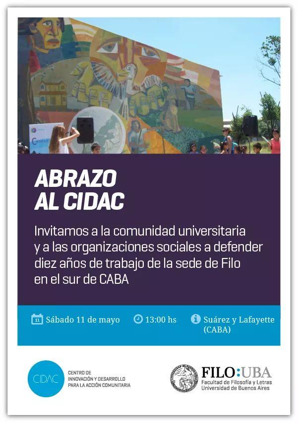 Jornada de abrazo al Centro de Innovación y Desarrollo para la Acción Comunitaria (CIDAC)