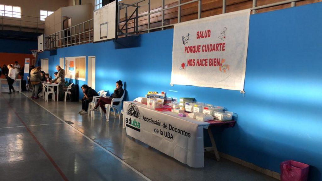 Extensión universitaria: ADUBA participó de las prácticas odontológicas en Tierra del Fuego
