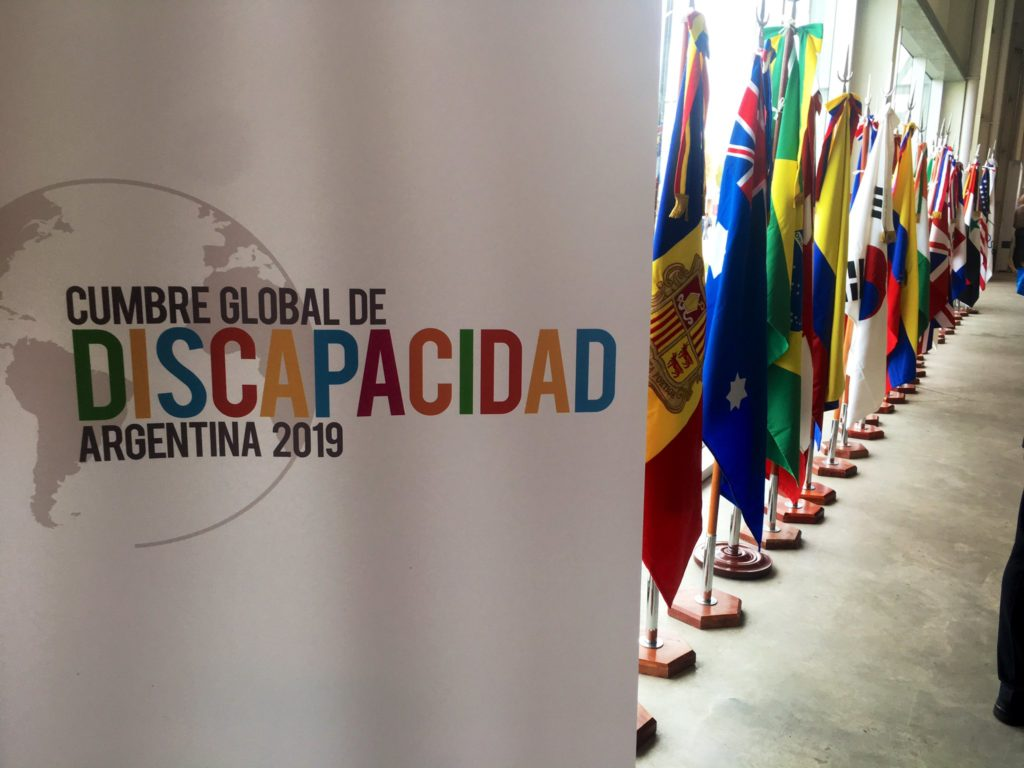 Presentes en la Cumbre Global de Discapacidad 2019
