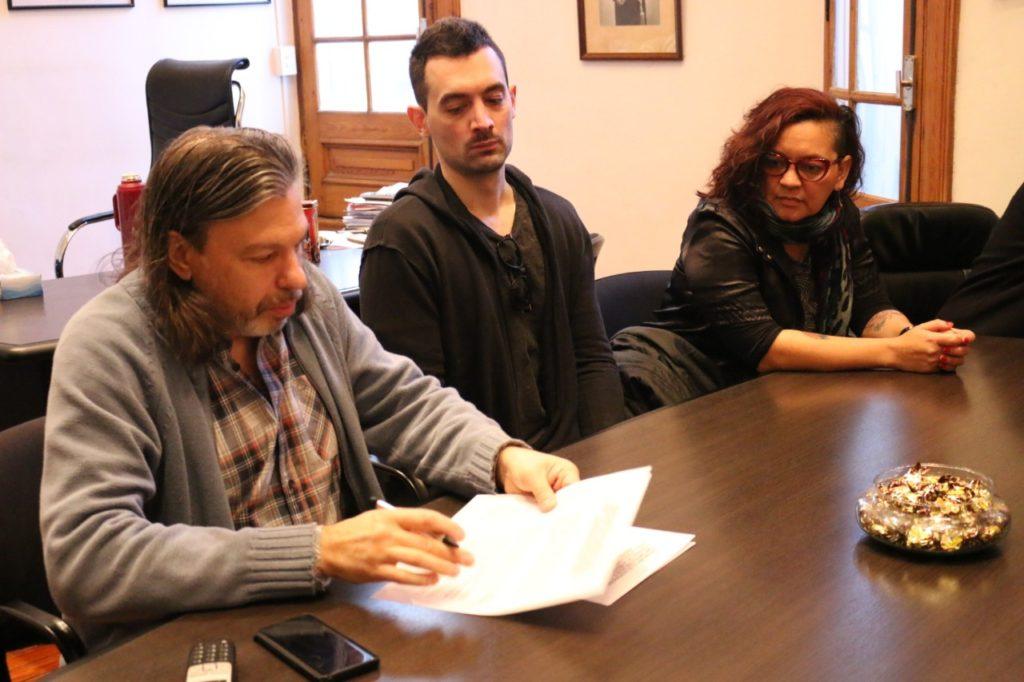 Firmamos un convenio de cooperación con elCluster Audiovisual de la Provincia de Buenos Aires