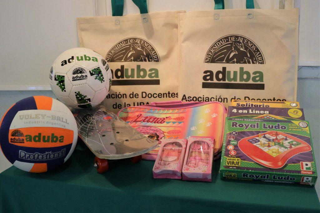 ADUBA entregará juguetes para el Día del Niño