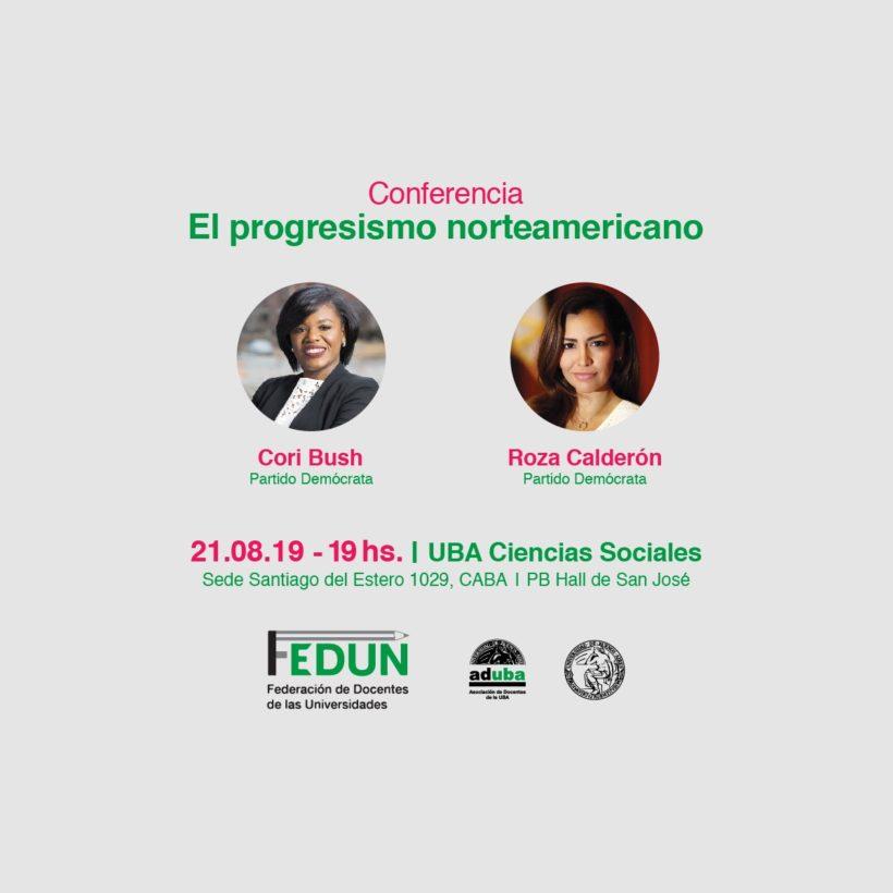 Cori Bush y Roza Calderón en Buenos Aires