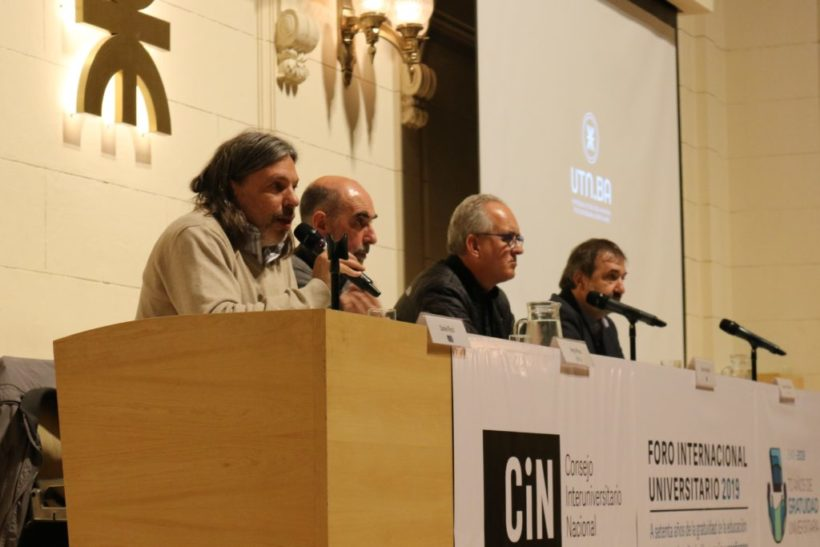 """Se realizó el Foro """"A setenta años de la Gratuidad de la Educación Superior"""", organizado por el CIN"""