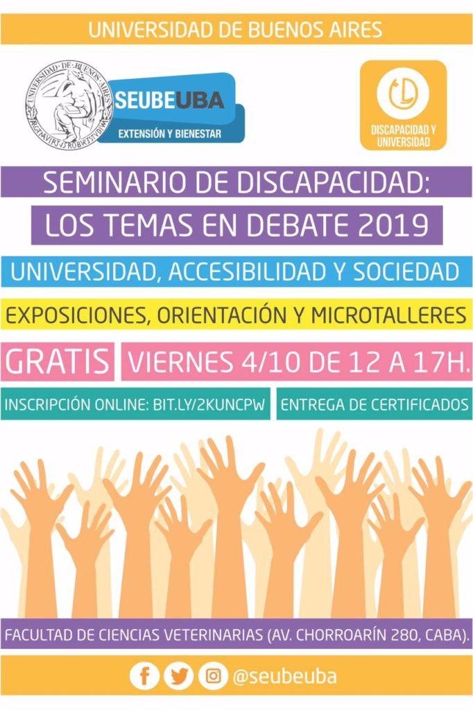 Seminario de Discapacidad y Universidad