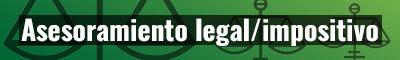 Asesoramiento legal e impositivo