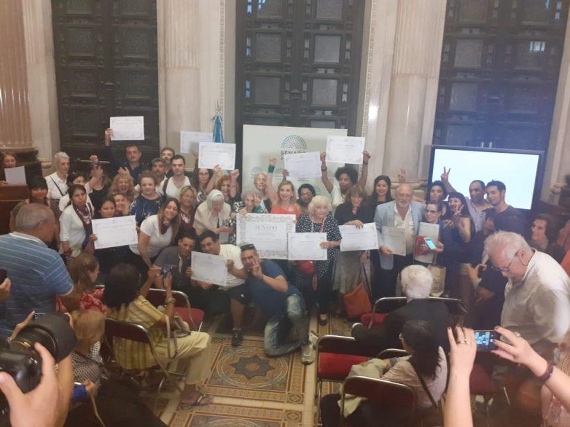 La APDH reconoció personalidades destacadas en defensa de los Derechos Humanos