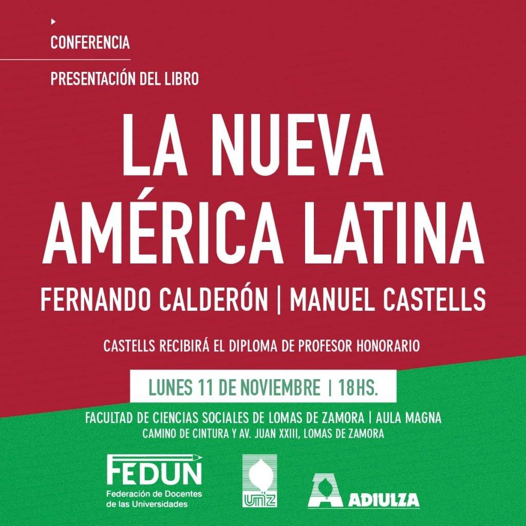 El sociólogo Manuel Castells visita la Argentina