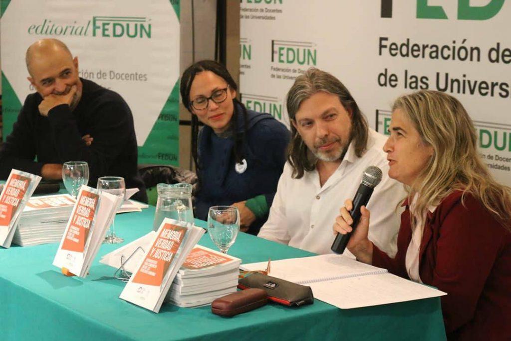 Editorial FEDUN presentó la reedición del libro Memoria, verdad y justicia. Herramientas para comunicar desde los Derechos Humanos, de APDH