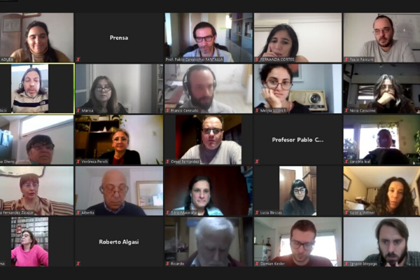 """Gran concurrencia al encuentro """"Experiencias docentes: la virtualidad en tiempos de COVID-19"""""""